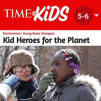 TIME for Kids - Jaysa Hunter-Mellers, Words Have Power