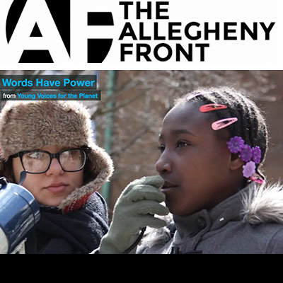 "YVFP Press: ""Words Have Power"" featured in Allegheny Front"