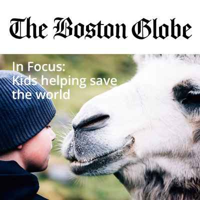 YVFP Press - The Boston Globe - Belmont Family Film Festival