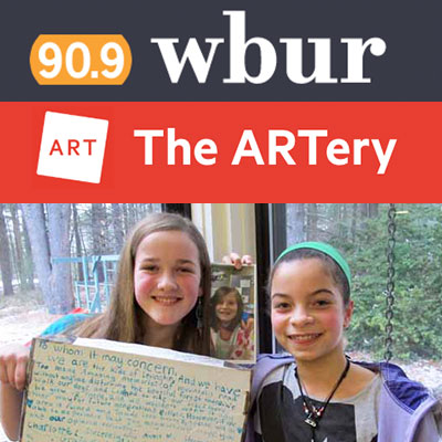 YVFP Press WBUR The ARTery - Save Tomorrow Belmont World Film Festival 2015