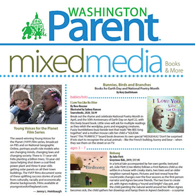YVFP Press: Washington Parent April 2020